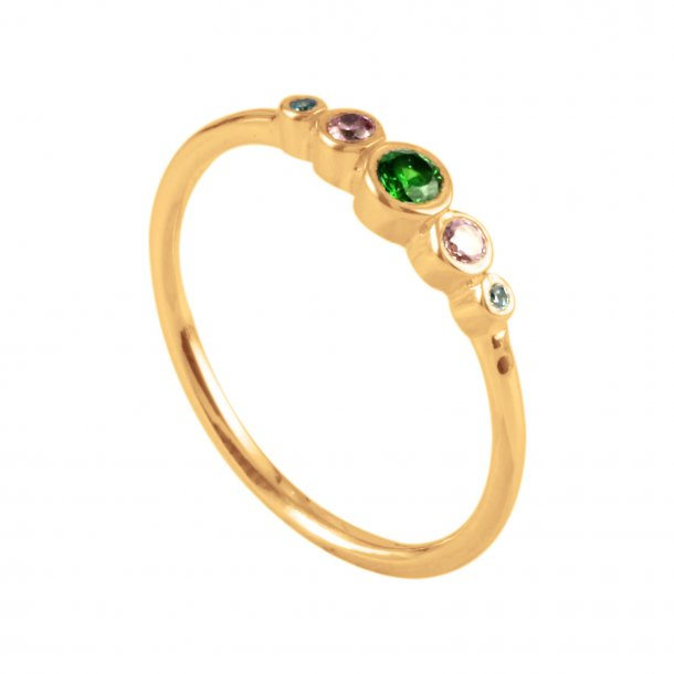 THEA RING MULTI FORGYLDT